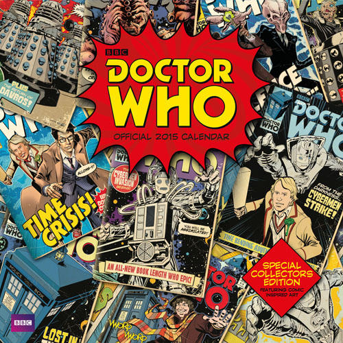 Official Doctor Who Classic Edition 2015 Square (Calendars 2015)