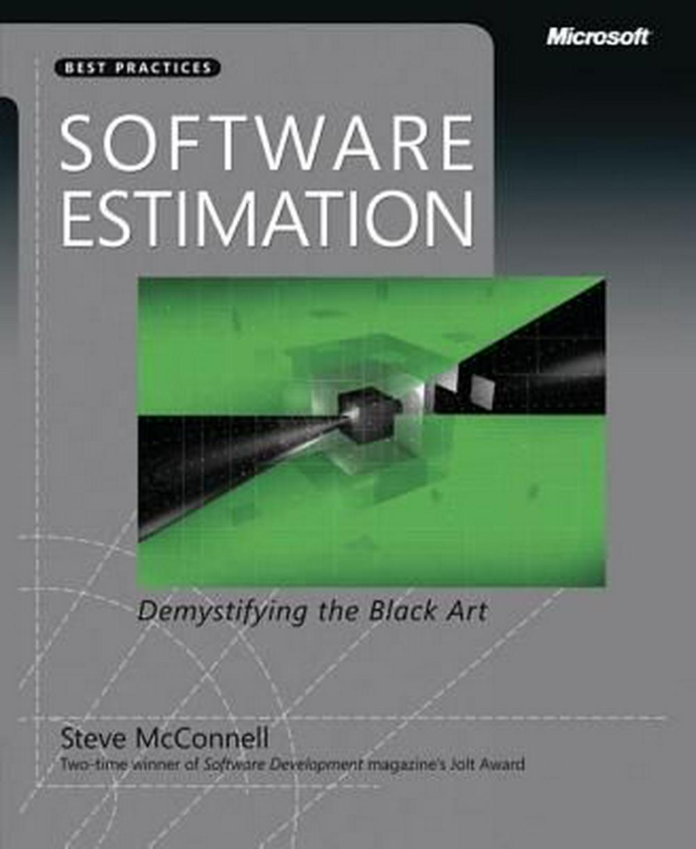 Cover Art for Software Estimation: Demystifying the Black Art, ISBN: 9780735605350