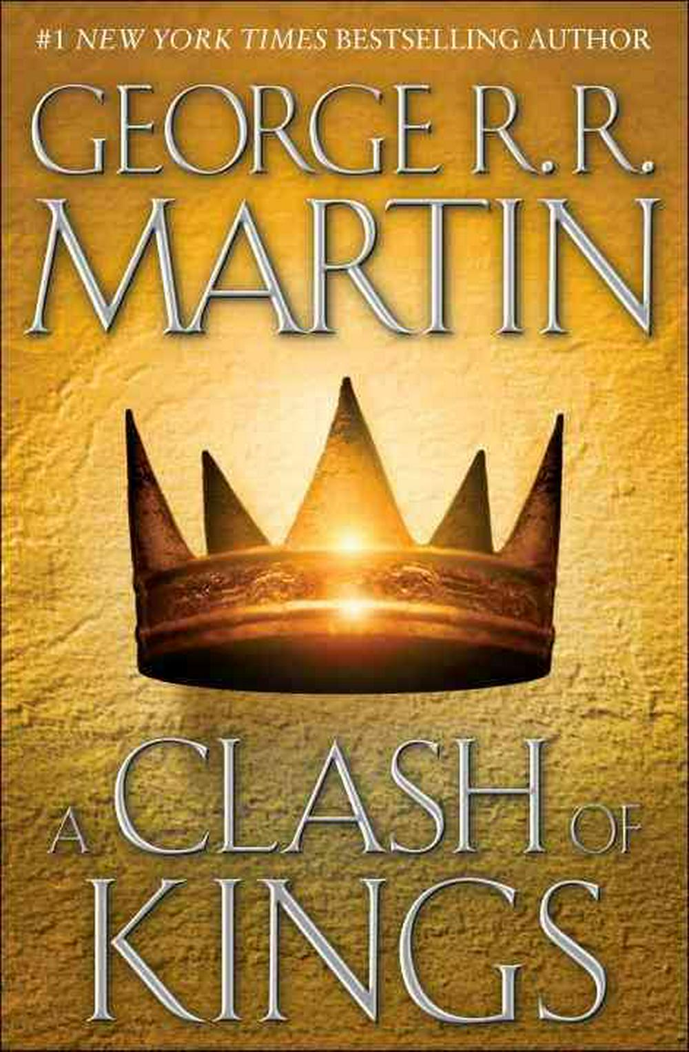 Cover Art for A Clash of Kings, ISBN: 9780553108033