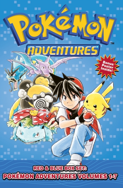 Pokemon Adventures Red & Blue