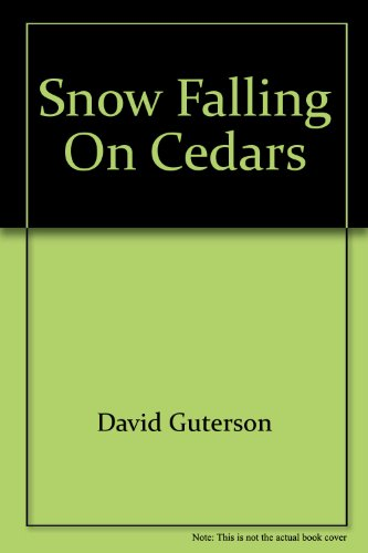 a review of the book snow falling on cedars by david guterson Buy snow falling on cedars by david guterson from amazon's fiction books store everyday low prices on a huge range of new releases and classic fiction.