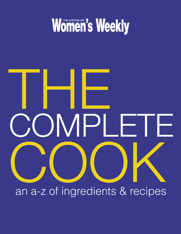 The AWW Complete Cook by Women's Weekly Australian, ISBN: 9781863968775