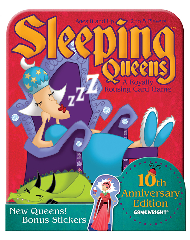 Sleeping Queens 10th Anniversary Tin Card Game by , ISBN: 0759751023010