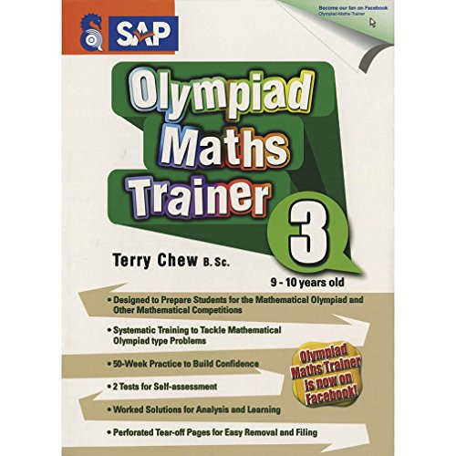 Olympiad Maths Trainer 3 by Terry Chew, ISBN: 9789812749062