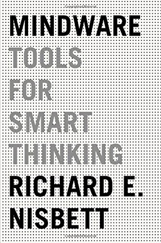 Cover Art for Mindware: Tools for Smart Thinking, ISBN: 9780374112677