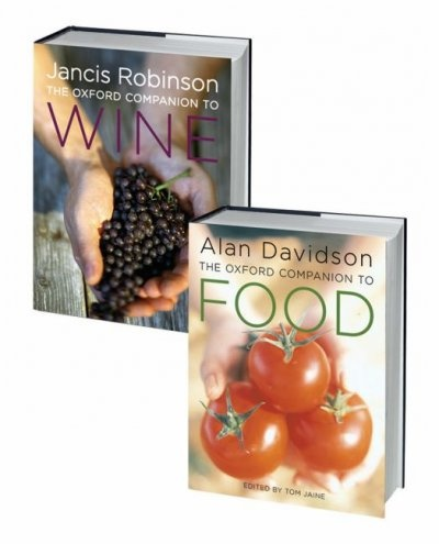 The Oxford Companion to Food and the Oxford Companion to Wine Set
