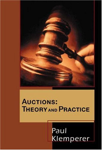 Auctions by Paul Klemperer, ISBN: 9780691119250