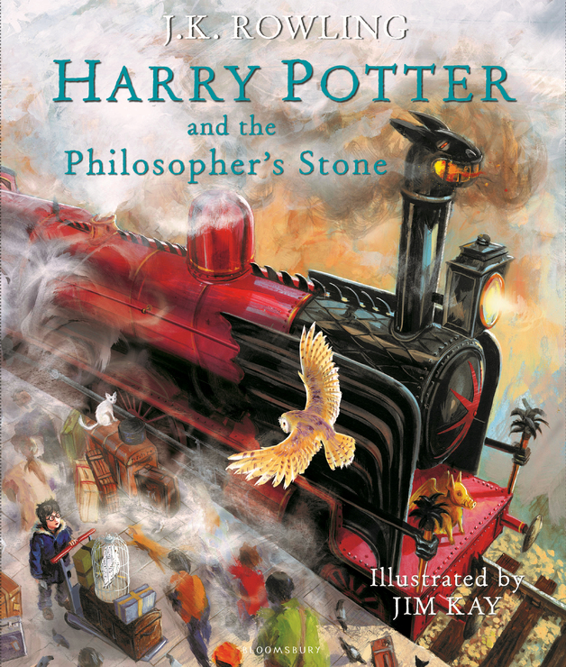 Harry Potter and the Philosopher's Stone by J. K. Rowling, ISBN: 9781408845646