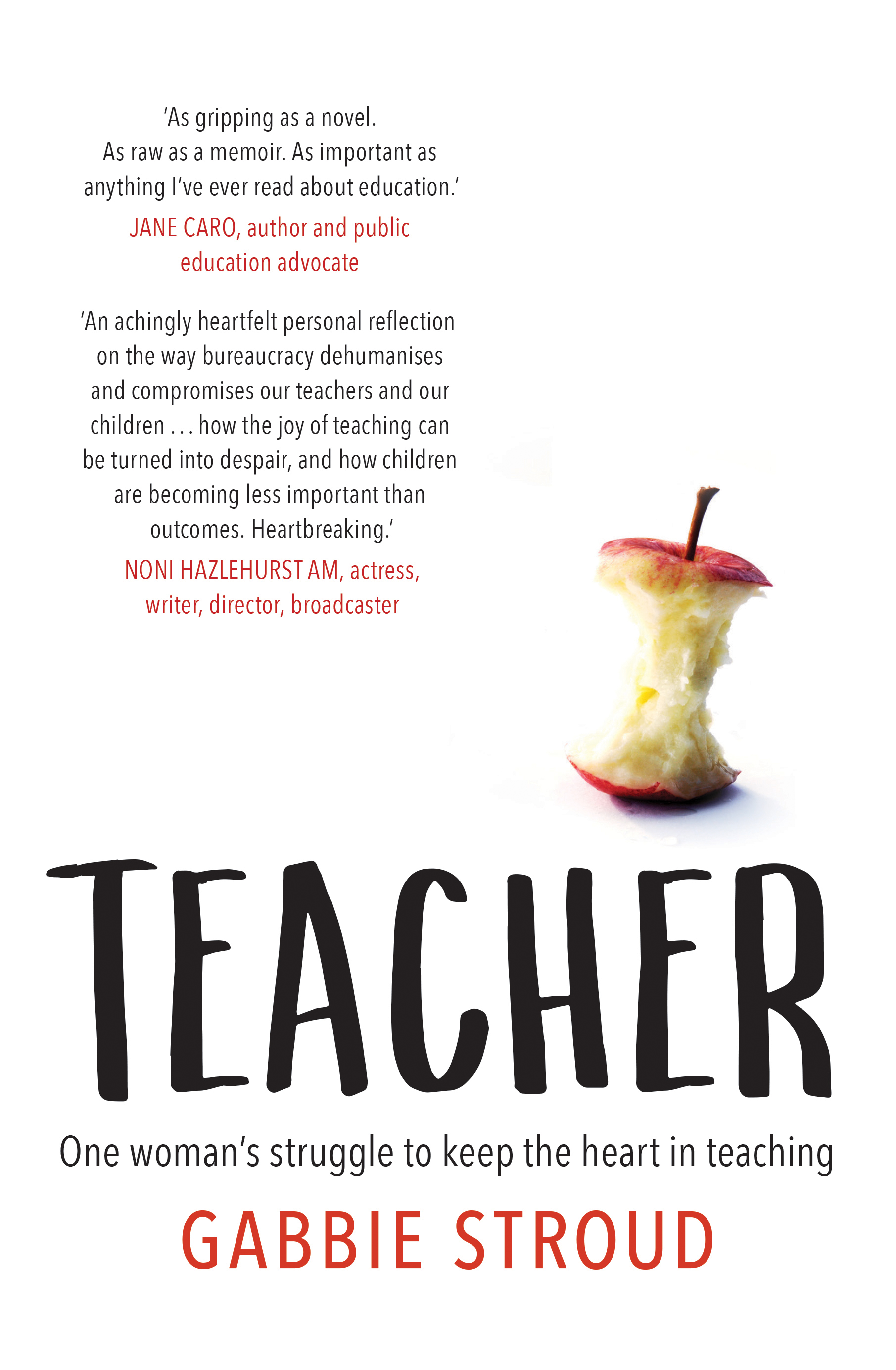 Teacher by Gabbie Stroud, ISBN: 9781760295905