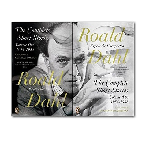 Roald Dahl The Complete Short Stories Collection Volume one and Volume two. (The complete short stories volume one 1944- 1953 and The Complete short stories volume 1954-1988)