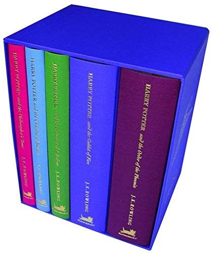 Harry Potter Special Edition 5 volume box set by J.K. Rowling, ISBN: 9780747569633