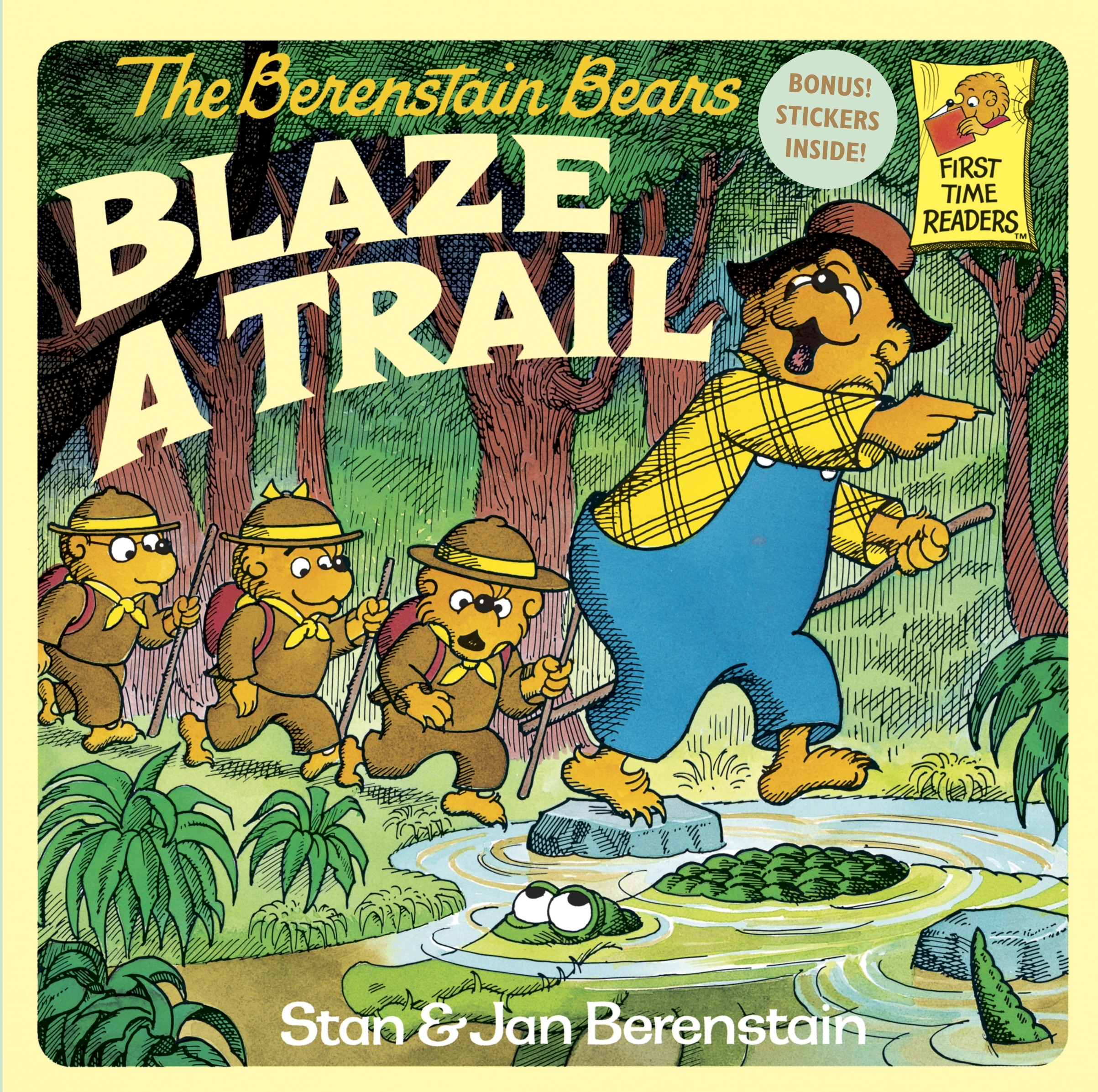 Berenstain Bears Blaze A Trail