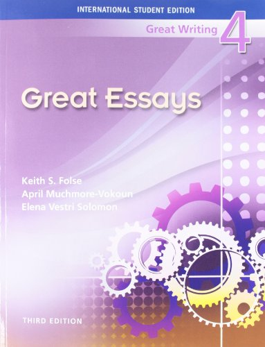 great writing 4 great essays 3rd edition An essay investigating the origins of human knowledge and its transmission through myth there is a lot of books, user manual, or guidebook that related to great writing 4 essays 3rd edition pdf, such as : great leaders of the civil war understanding the civil war.