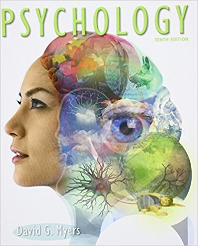 Psychology by University David G Myers, ISBN: 9781429261784