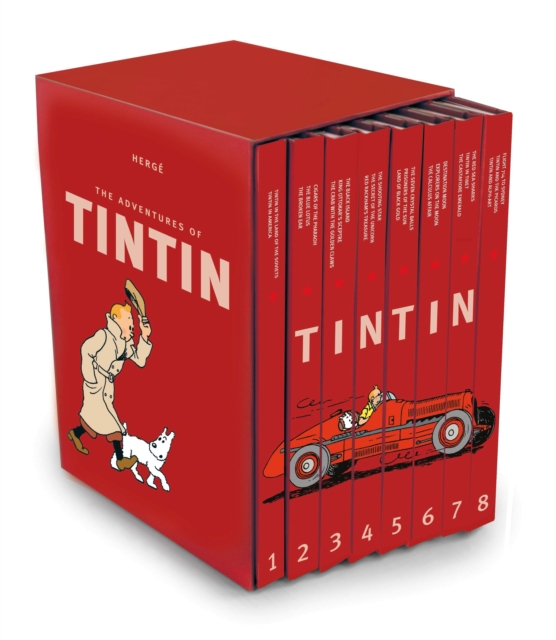 Tintin CollectionThe Adventures of Tintin - Compact Editions by Herge, ISBN: 9781405278454