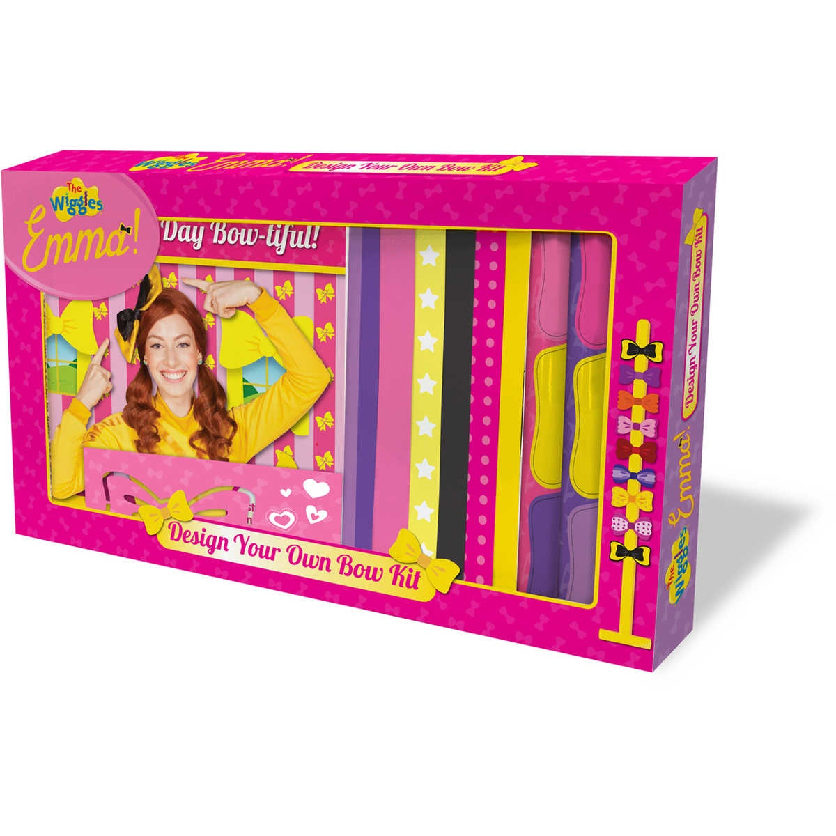 Wiggles - Emma! Design Your Own Bow Kit by The Wiggles, ISBN: 9781760403843