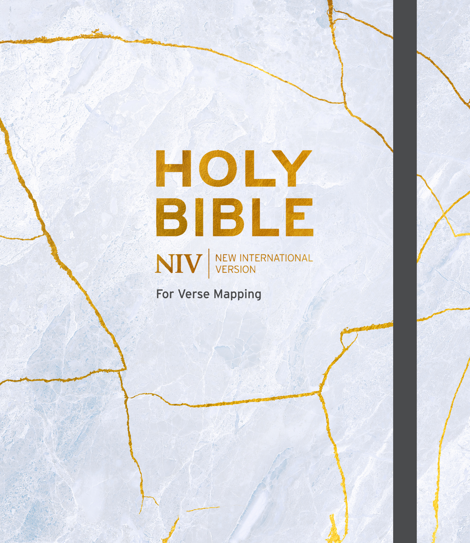 NIV Bible for Journalling and Verse-MappingGrey