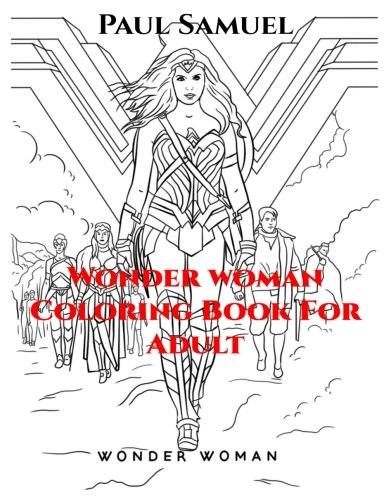 Booko: Comparing prices for Wonder Woman Coloring Book for Adult ...