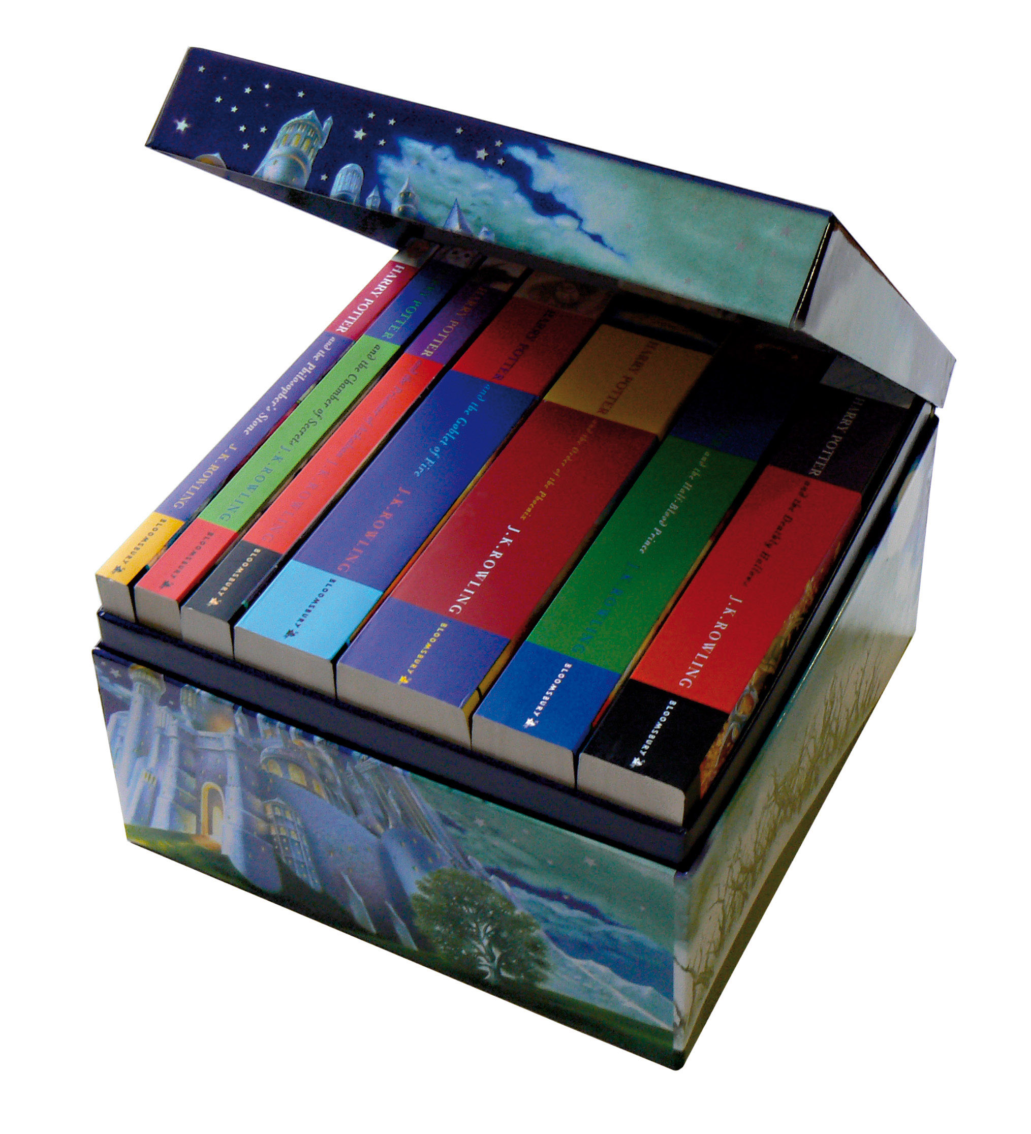 Harry Potter Paperback Boxed Set x 7 by J.K. Rowling, ISBN: 9780747595854