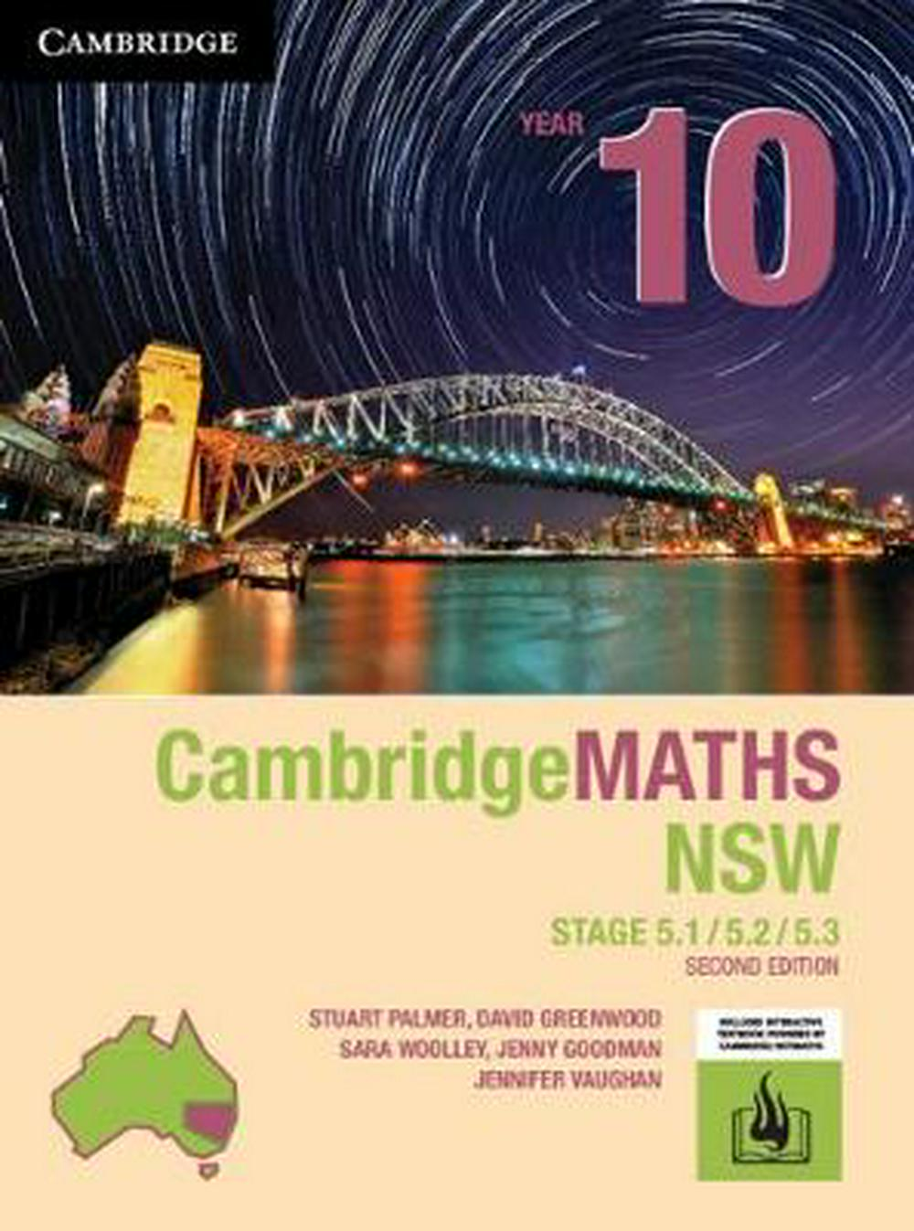 Cambridge Maths Stage 5 NSW Year 10 5.1/5.2/5.3 2ed