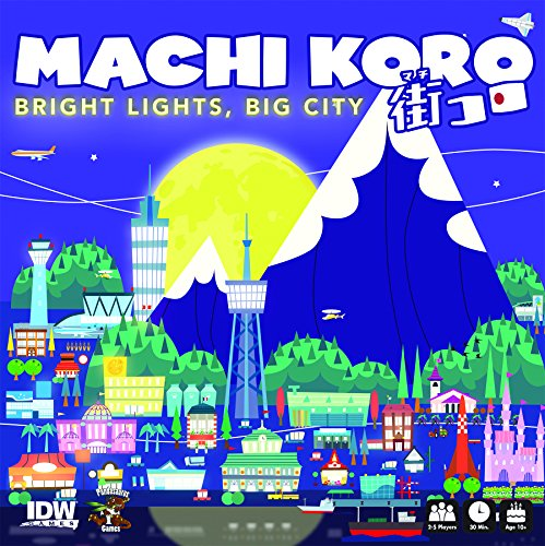 Machi KoroBright Lights Big City Card Game