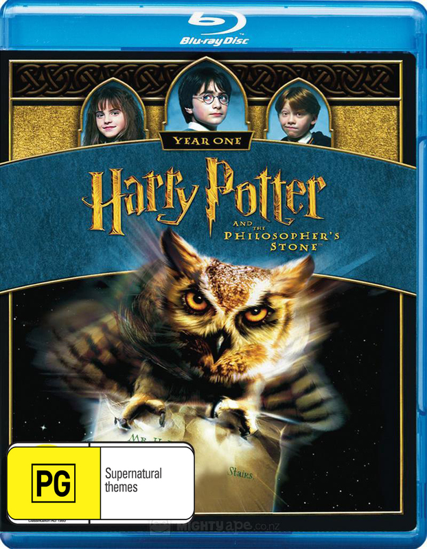 Harry Potter and the Philosopher's Stone (1 Disc Blu-ray)