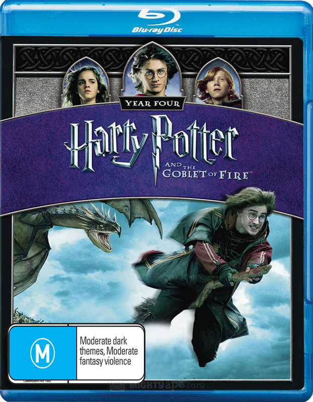 Harry Potter & The Goblet Of Fire Blu-Ray