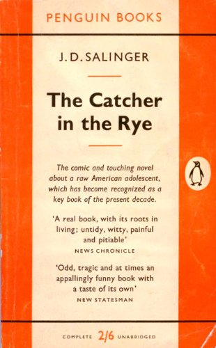 trying to understand a character in the catcher in the rye by j d salinger The catcher in the rye j d salinger it is possible that holden is simply trying to recapture in order to understand his character it is necessary to.