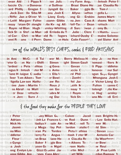 Made with Love100 of the World's Best Chefs, Cooks & Food Art...