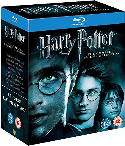 Harry Potter - The Complete 8-Film Collection [Blu-ray] [2011][Region Free] by Unknown, ISBN: 8903539777004