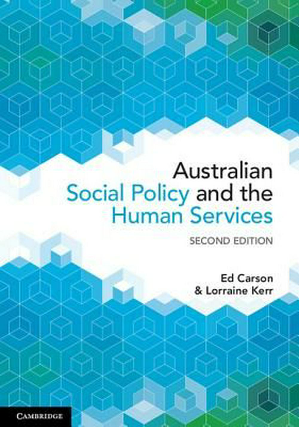 Australian Social Policy and the Human Services by Carson  Edgar, ISBN: 9781316621035