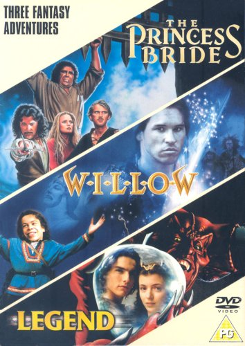 Fantasy Triple (Princess Bride, Willow, Legend) [DVD]