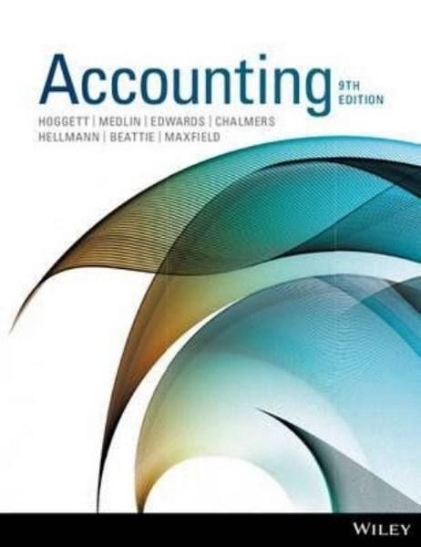 Accounting 9E+wileyplus Stand-alone Card