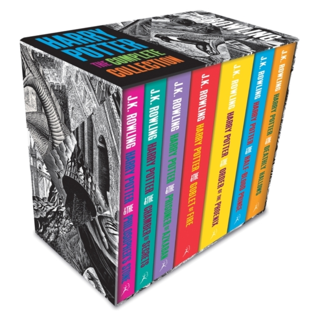 Harry Potter Boxed Set: The Complete Collection (Adult Paperback) by J.K. Rowling, ISBN: 9781408898659
