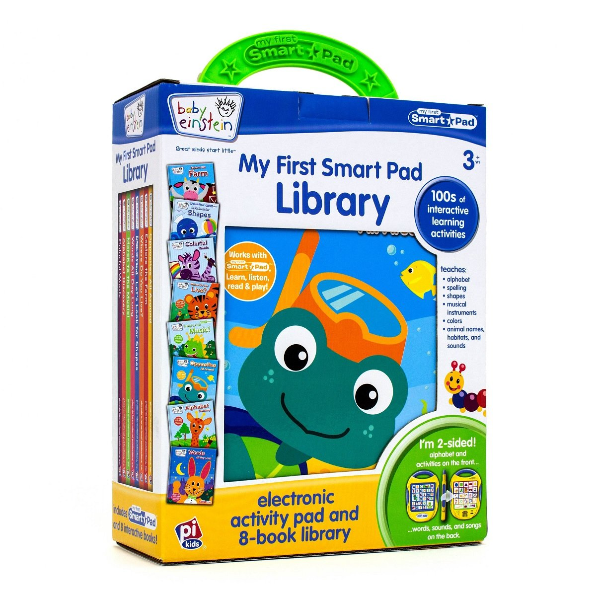 Baby Einstein (TM) My First Smart Pad(TM) Library: Electronic Activity Pad and 8-Book Library (2015-04-15)