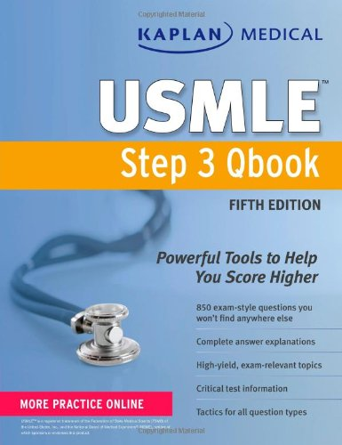 Kaplan Medical USMLE Step 3 Qbook by Kaplan, ISBN: 9781609782283