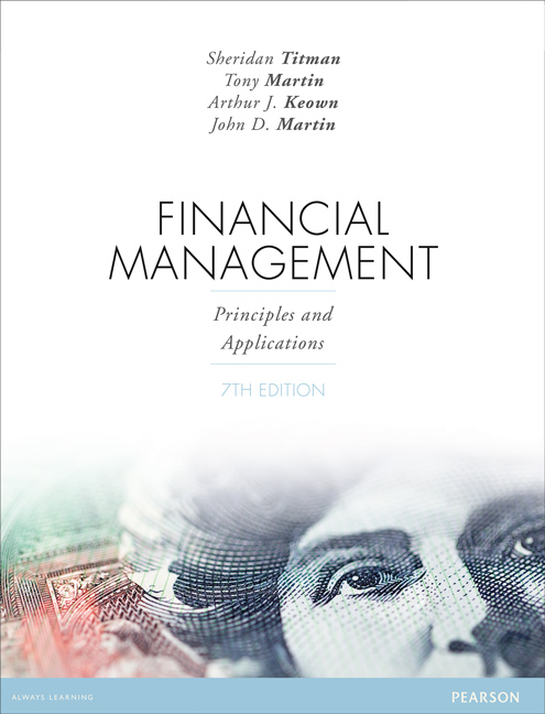 Financial ManagementPrinciples and Applications