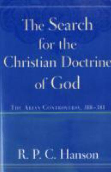 Search for the Christian Doctrine of God
