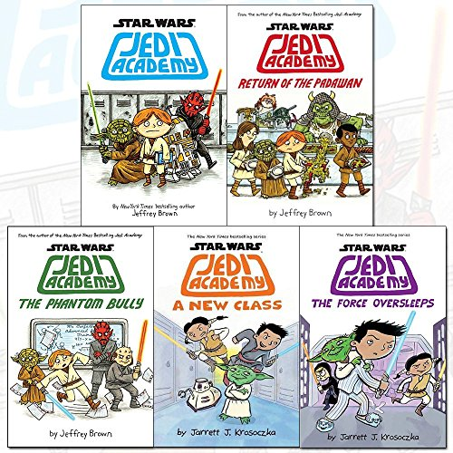 jedi academy series star wars collection 5 books (jedi academy, return of the padawan, the phantom bully, a new class, the force oversleeps [hardcover])