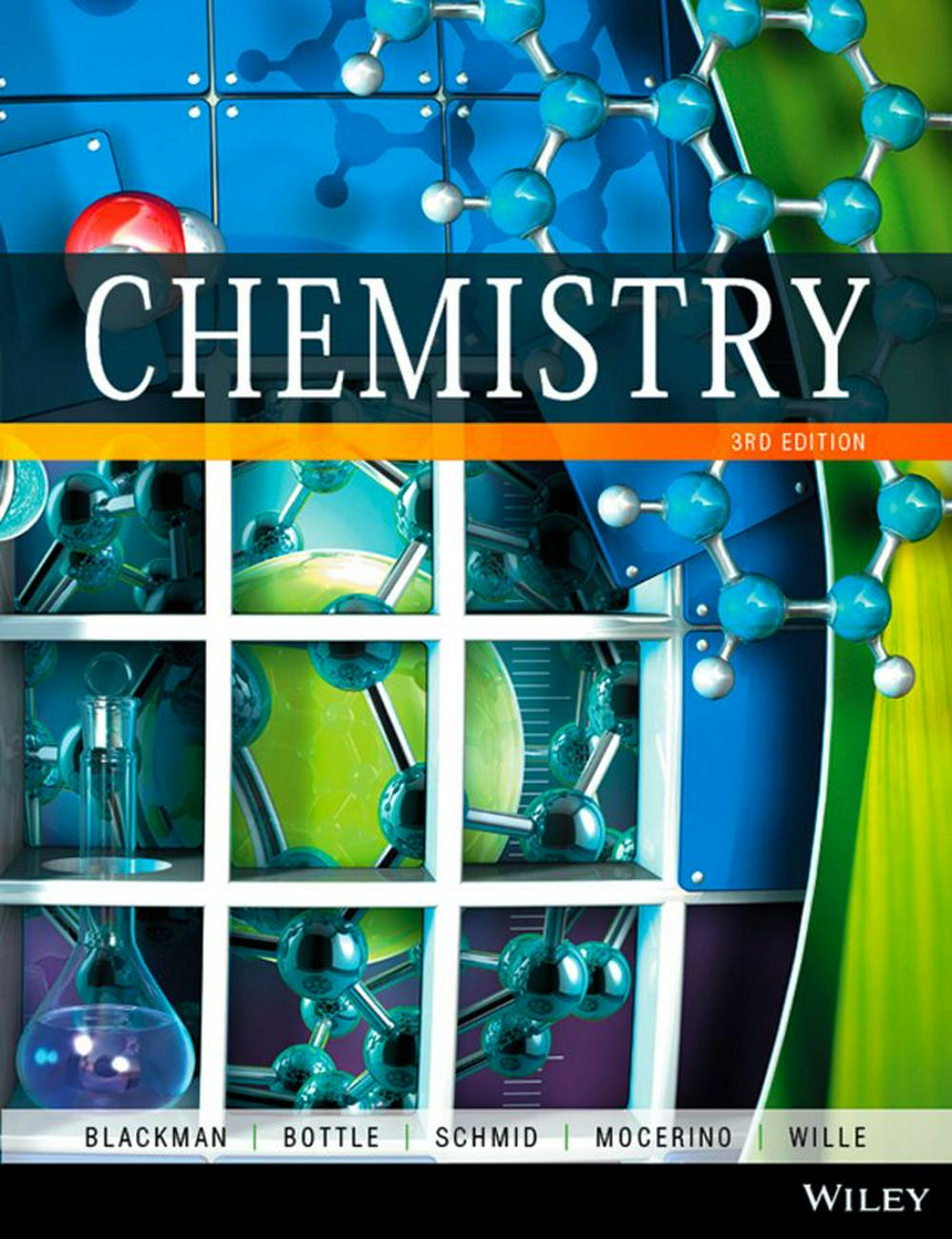 Chemistry 3E+chemistry 3E WileyPlus Stand-alone Card+analytical Chemistry 6E Chapter 18 Custom Publication for the University of Tasmania B &w