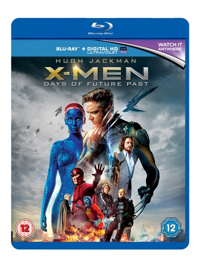 X-Men: Days of Future Past [Blu-ray + UV Copy] by Unknown, ISBN: 5039036065771