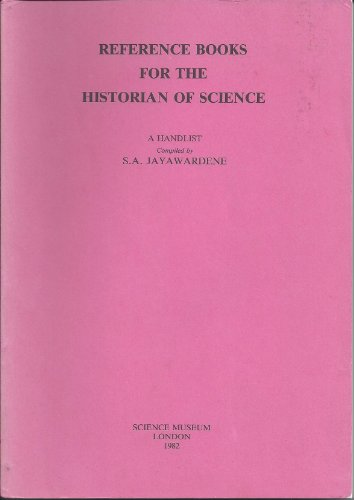 Reference Books for the Historian of Science