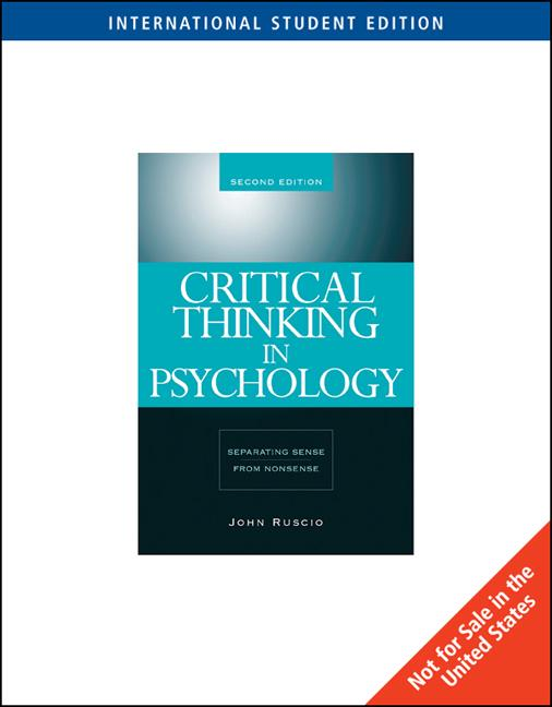 critical thinking student s introductio Buy or rent critical thinking: a students introduction as an etextbook and get instant access with vitalsource, you can save up to 80% compared to print.