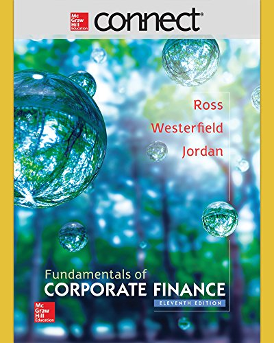 Connect 1 Semester Access Card for Fundamentals of Corporate Finance by Bradford Jordan; Randolph Westerfield; Stephen Ross, ISBN: 9781259289392