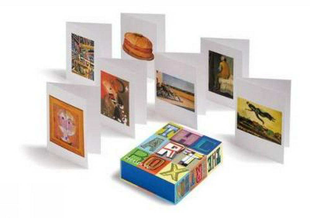 The Art Box Greeting Cards (Blue)
