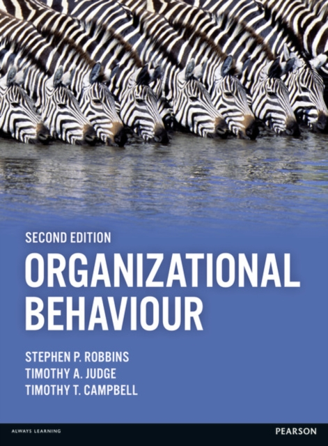 Organizational Behaviour by Stephen P. Robbins,Timothy Judge,Timothy Campbell, ISBN: 9781292016559