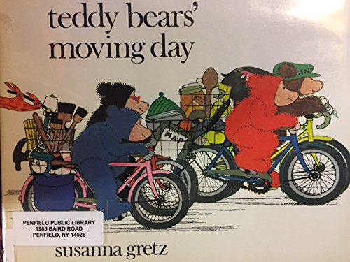 Teddy bear's moving day