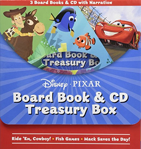Disney*pixar Board Book & CD Treasury Box