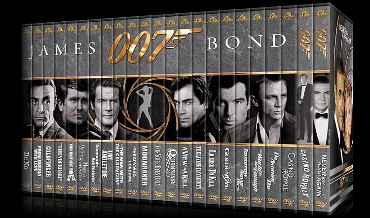 James Bond Collection, The Blu-ray by , ISBN: 0883904346708