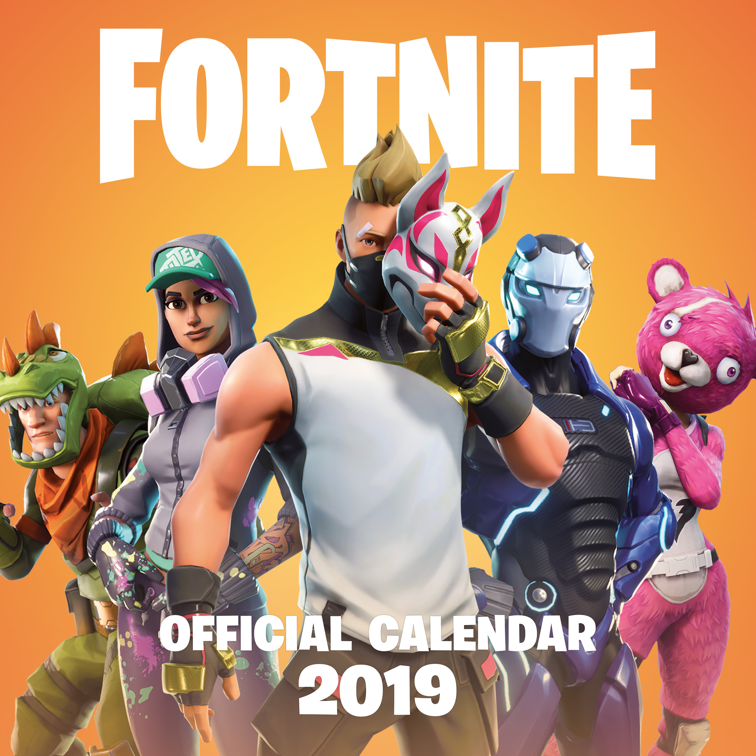 FORTNITE (OFFICIAL): 2019 Calendar by Epic Games, ISBN: 9781472262172